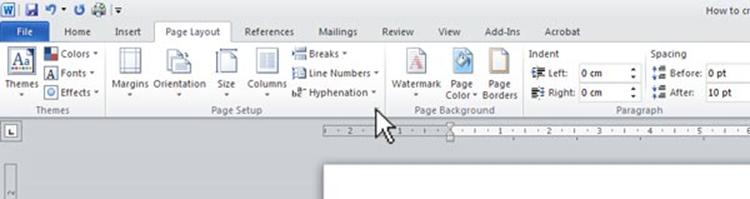 First Remember To Do Your Page Layout Open Word And Select The Tab Then Click On Icon In Corner Of Setup