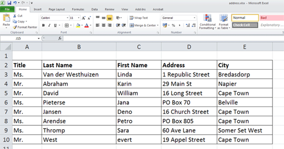 Use mail merge to create and print letters and other